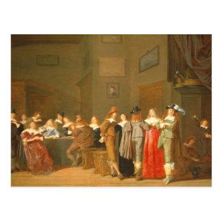 Uppvakta plats, 1644 (olja på kanfas) vykort