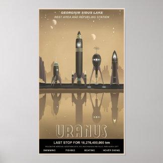 Uranus vilar stoppet posters