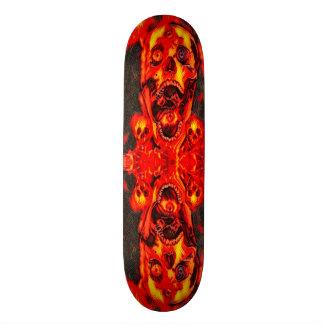 Urban avfyrar döskallarinslag som beställnings- mini skateboard bräda 18,7 cm