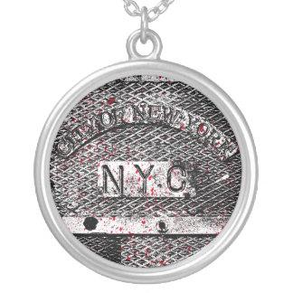 Urban NYC Silverpläterat Halsband