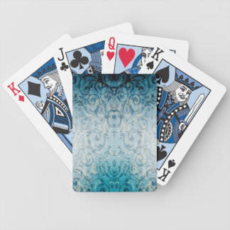 Urblekt elegant krusidull spelkort