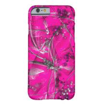 Ursnygg abstrakt iphone case för rosor & för svart barely there iPhone 6 skal