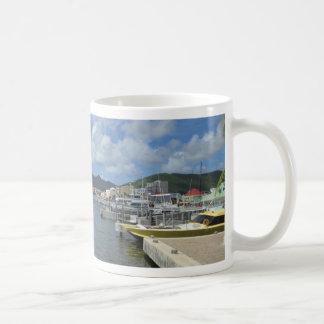 Ursnygg dag för Philipsburg hamn Kaffemugg