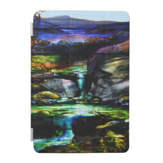 Ursnygg natur för färgfläckexponeringsglas iPad mini skydd