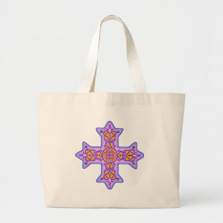 Ursnygg pastellfärgad Coptic kor Jumbo Tygkasse