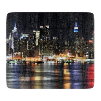 Ursnyggt foto av New York på natt