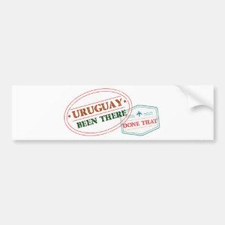 Uruguay där gjort det bildekal