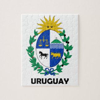 URUGUAY - emblem/flagga/vapensköld/symbol Pussel