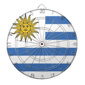 Uruguay flagga darttavla