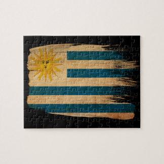 Uruguay flagga pussel