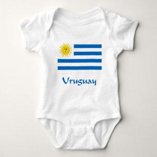 Uruguay flagga tee shirts