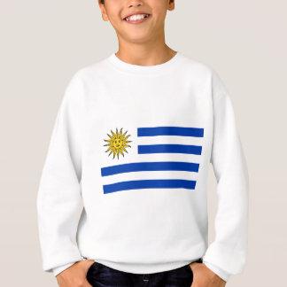 Uruguay flagga tröja