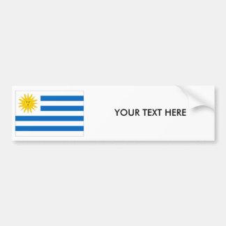 URUGUAY FLAGGAbildekal Bildekal