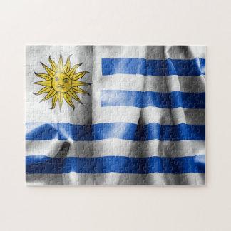 Uruguay flaggapussel pussel
