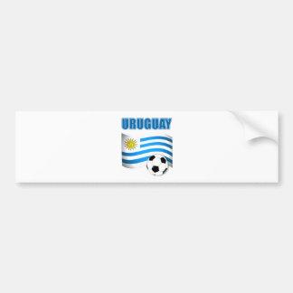 Uruguay fotbollT-tröja Bildekal