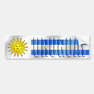 Uruguay fotbollT-tröja och gåvor Bildekal