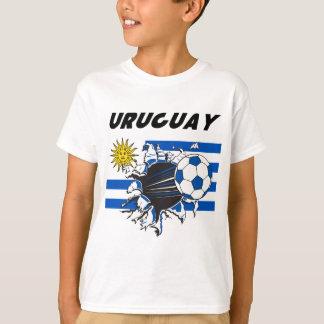 Uruguay Futbol fotbollT-tröja T Shirts