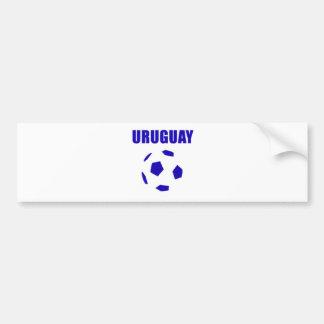 Uruguay futbol/futebol T-tröja Bildekal