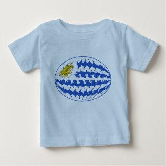 Uruguay Gnarly flaggaT-tröja T Shirt