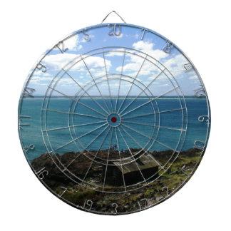 Uruguay kabin vid havet darttavla