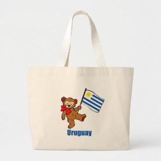 Uruguay nalle jumbo tygkasse