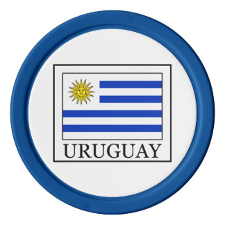 Uruguay Poker Marker