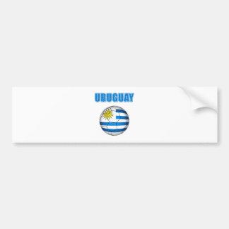 Uruguay Socccer 2010 T-tröja Bildekal