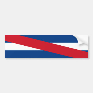 Uruguay/uruguayansk Artigas flagga Bildekal