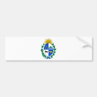 Uruguay vapensköld bildekal
