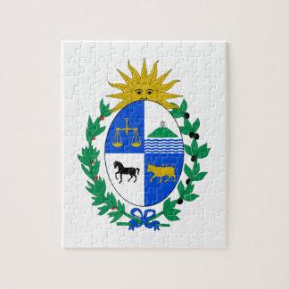 Uruguay vapensköld pussel