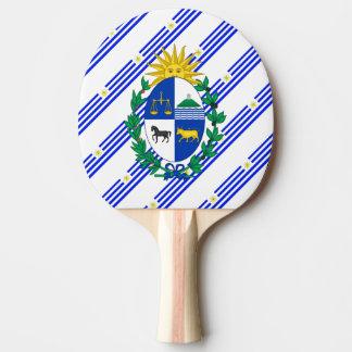 Uruguayansk randflagga pingisracket