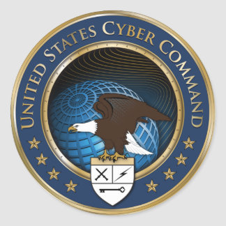 Us-cyberen befaller klistermärken