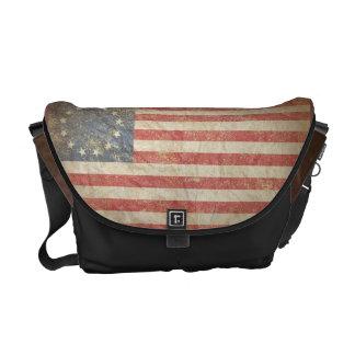 Us-flagga 1776 kurir väska