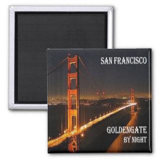 US USA San Francisco Alamo kvadrerar den guld- Magnet