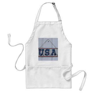 USA 4th av den Juli hängningen Förkläde