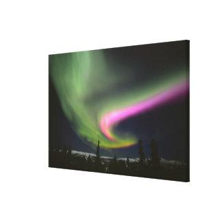 USA Alaska, Chena Hot Springs. Aurora 2 Canvastryck