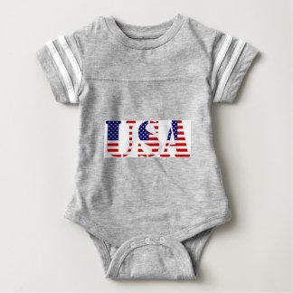 USA-amerikanska flaggan T-shirts