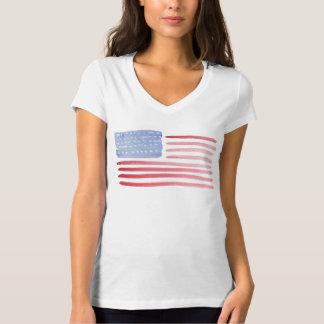 USA amerikanska flagganT-tröja
