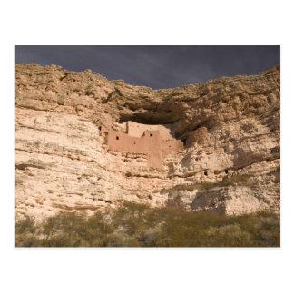 USA Arizona, läger Verde: Montezuma slott Vykort