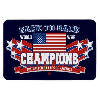 USA baksida som drar tillbaka den patriotiska Flexibla Magneter
