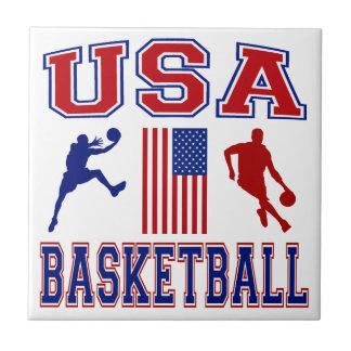 USA basket Kakelplatta Av Kerami