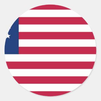 USA Betsy Ross flagga Runt Klistermärke