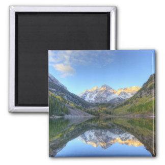 USA Colorado, rödbrun Klockor-Snowmass Magnet