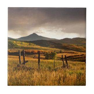 USA Colorado, San Juan berg Kakelplatta