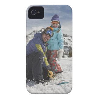 USA, Colorado, Telluride, far och dotter Case-Mate iPhone 4 Skydd