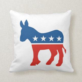 USA-demokratiska partitåsnan kudder United States Kudde
