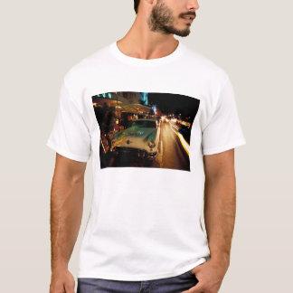 USA FL, Miami, södra strand på natten. 2 T Shirts