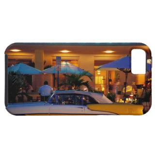 USA FL, Miami, södra strand på natten iPhone 5 Hud