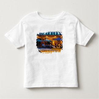 USA FL, Miami, södra strand på natten T-shirt