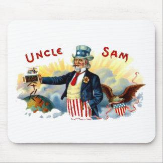 USA flagga 4th för Uncle Sam av Juli patriotisk vi Musmatta